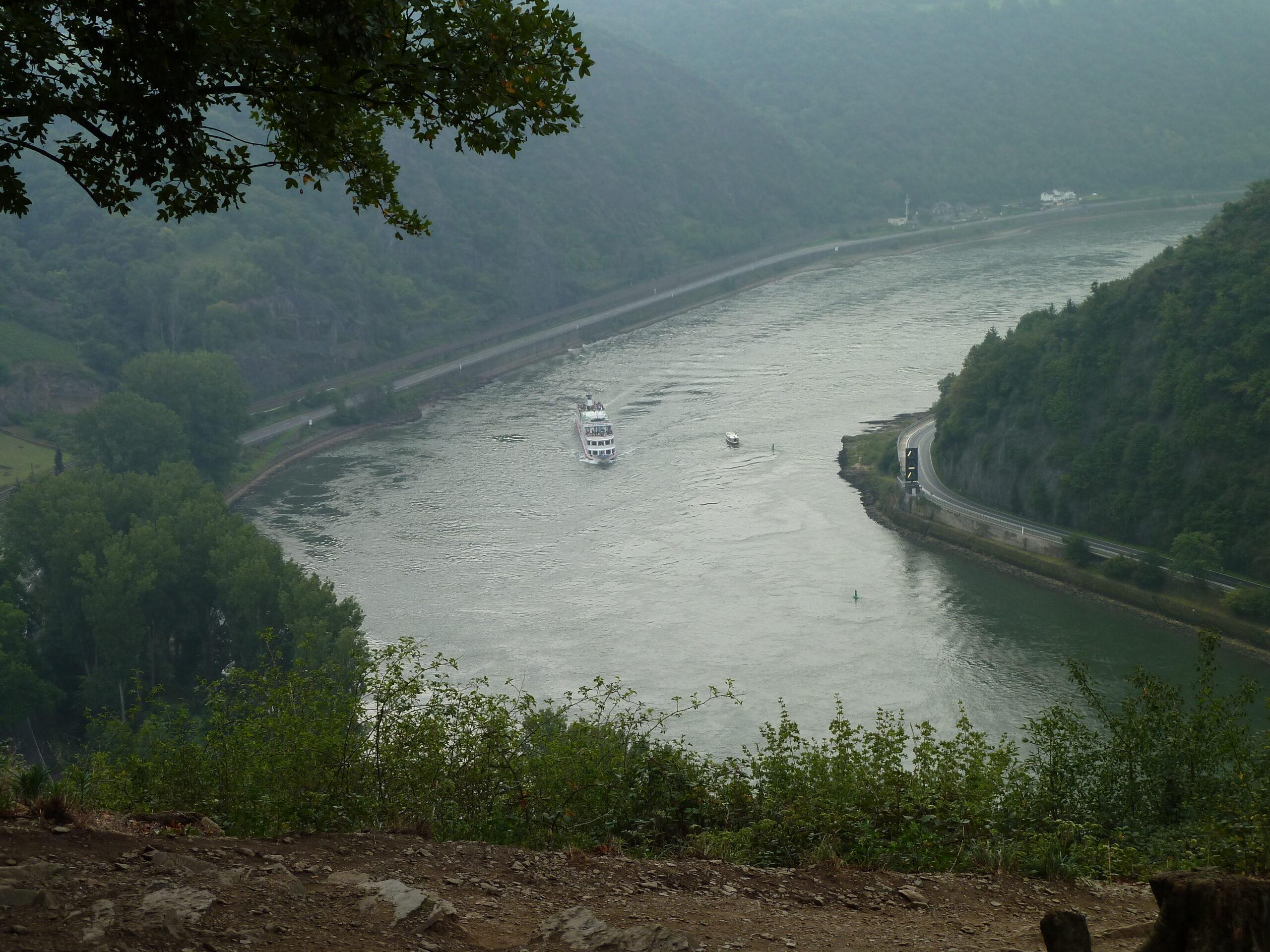 Mc-rejse til Rhinen